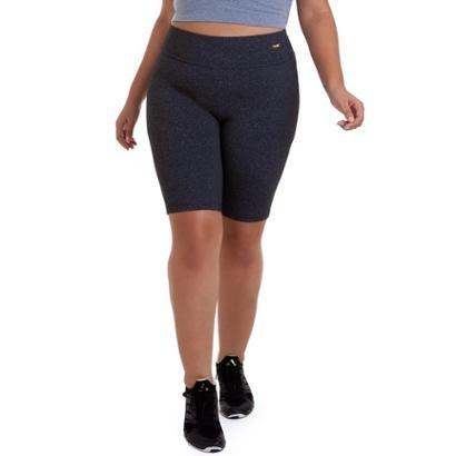Bermuda Plus Size Supplex Best Fit Feminina
