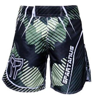 Bermuda Pro Fight Camo Spartanus Fightwear