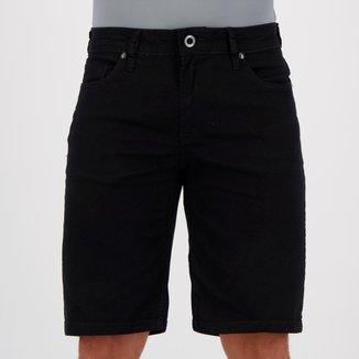 Bermuda Volcom Jeans Walk Preta