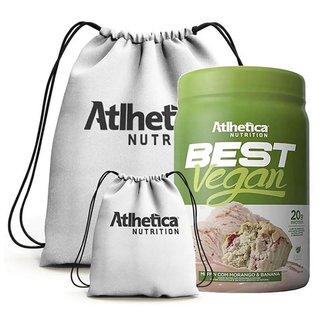 Best Vegan 500G + Mochila  - Atlhetica Nutrition (Muffin Com Morango E Banana)