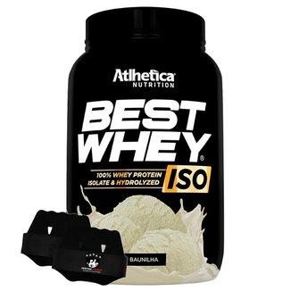 Best Whey Atlhetica Nutrition Isolada 900g + Luva