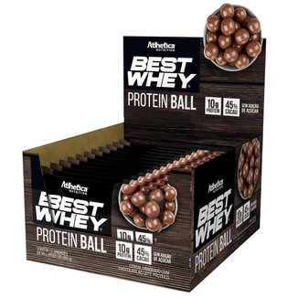 Best Whey Protein Ball c/ 12 Unidades - Atlhetica Nutrition