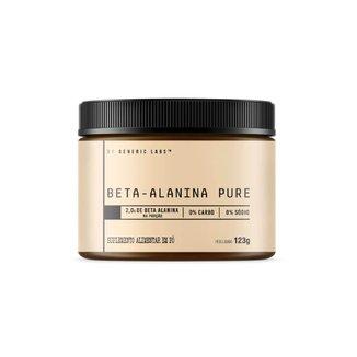 Beta Alanina (123g) - Generic Labs
