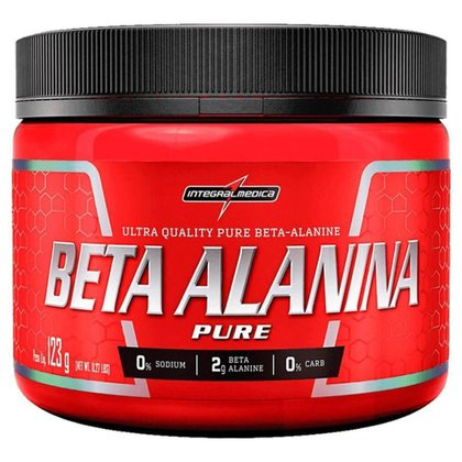 Beta Alanina Pure - 123g - Integralmédica