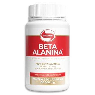 Beta Alanina Vitafor 240 Cápsulas