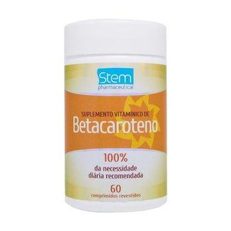 Betacaroteno (60 Comprimidos) - Stem Pharmaceutical