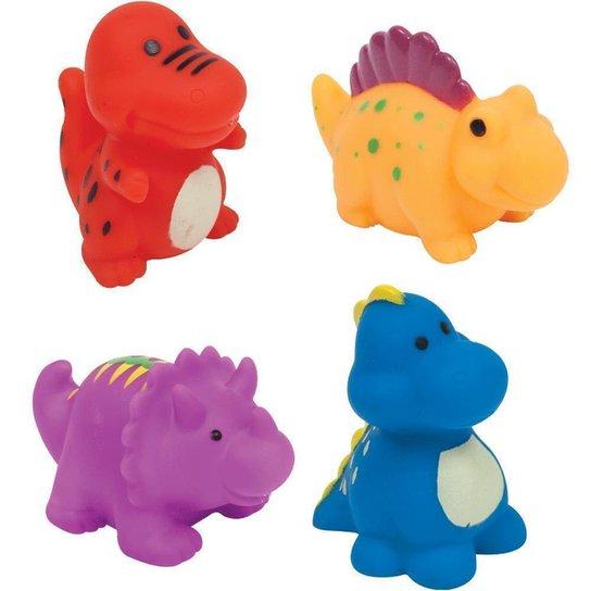 Bichinhos Para Banho - Dino Buba Baby - Colorido