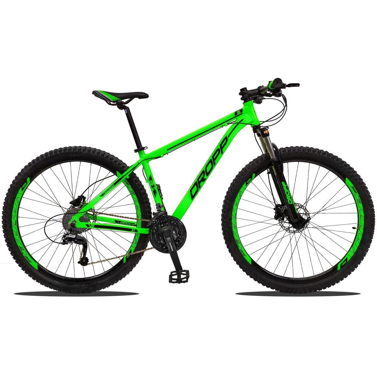 Bicicleta Dropp Z1 T21 Aro 29 Susp. Dianteira 27 Marchas - Verde