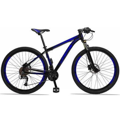 Bicicleta 29 Drais 27 Marchas Câmbio Shimano Freio Hidráulico Suspensão com Trava