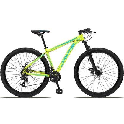 Bicicleta 29 Drais Color 21v Câmbio Shimano Freio a disco MTB  Aluminun