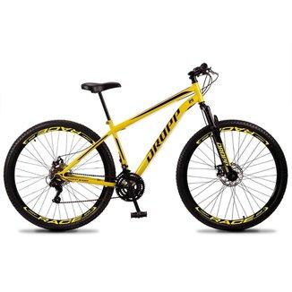 Bicicleta 29 Dropp em Aço 21v Edition Sport com Freio a Disco e Suspensão
