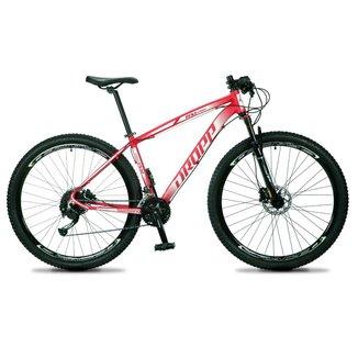 Bicicleta 29 Dropp RS1-PRO 27V Kit Shimano Alivio/Altus Suspensão c/ Trava e Freio Hidráulico