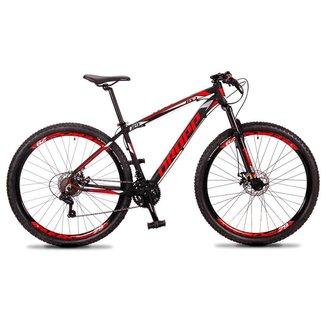 Bicicleta 29 Dropp RS3 Câmbio Shimano 21 Marchas Quadro Alumínio e Suspensão Dianteira e Freio Disco