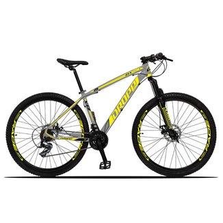 Bicicleta 29 Dropp Z3X Câmbios Dropp 24v Freio a Disco Mecânico com Suspensão Special Edition