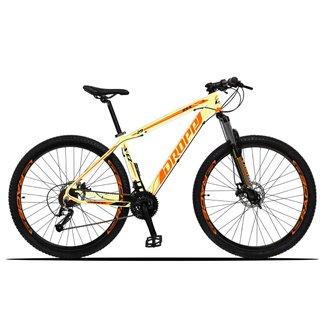 Bicicleta 29 Dropp Z3X Câmbios Dropp 27v Freio Hidráulico Suspensão com Trava Special Edition