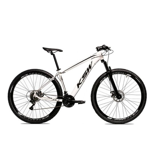 Bicicleta Alum 29 Ksw Cambios GTA 24 Vel A Disco Ltx Hidráulica - Bronze+Preto
