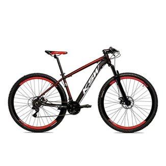 Bicicleta Alum 29 KSW Shimano 24 Vel Freio a Disco KRW11
