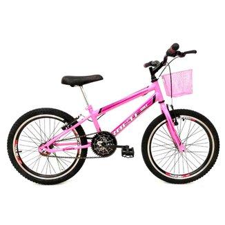 Bicicleta Aro 20 Avance Infantil Freios V-brake Rebaixada