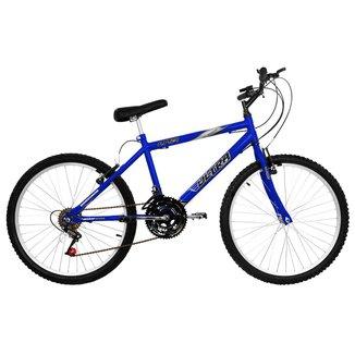 Bicicleta Aro 24 Masculina 18 Marchas Aço Carbono Ultra Bikes