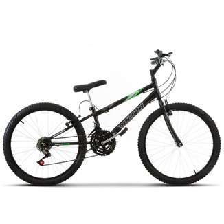 Bicicleta Aro 24 Rebaixada 18 Marchas Aço Carbono Ultra Bikes