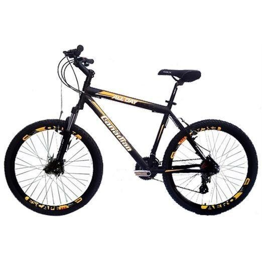 Bicicleta Canadian Bike All Day Aro 26 Susp. Dianteira 21 Marchas - Preto