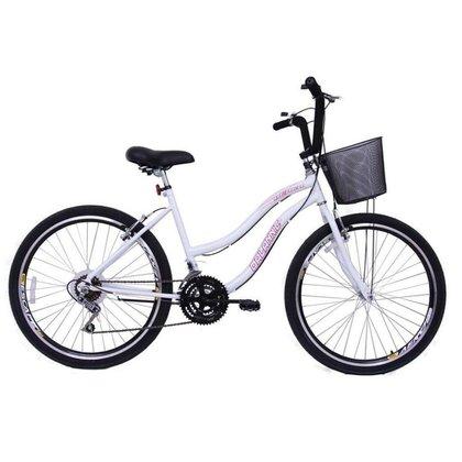 Bicicleta Aro 26 Feminina Beach 18 Marchas
