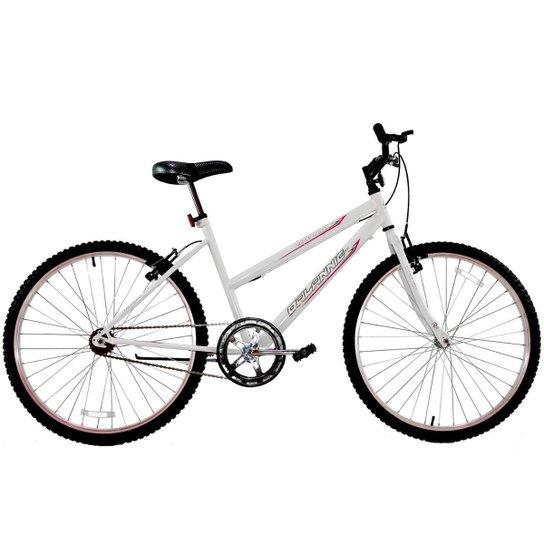 Bicicleta Aro 26 Feminina Dalannio Bike Dalia Sem Marcha - Branco