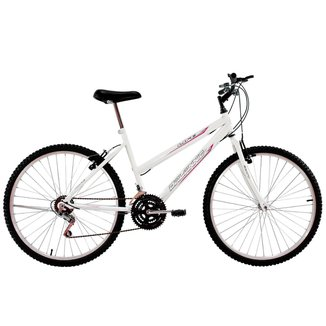 Bicicleta Aro 26 Feminina Life 18 Marchas