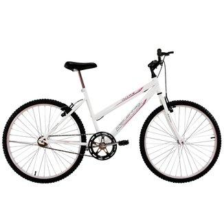 Bicicleta Aro 26 Feminina Life Sem Marcha