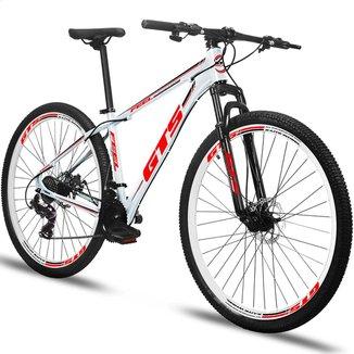 Bicicleta Aro 26 Gts Feel  Freio À Disco 21 Marchas