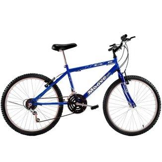 Bicicleta Aro 26 Masculina Adulto 18 Marchas