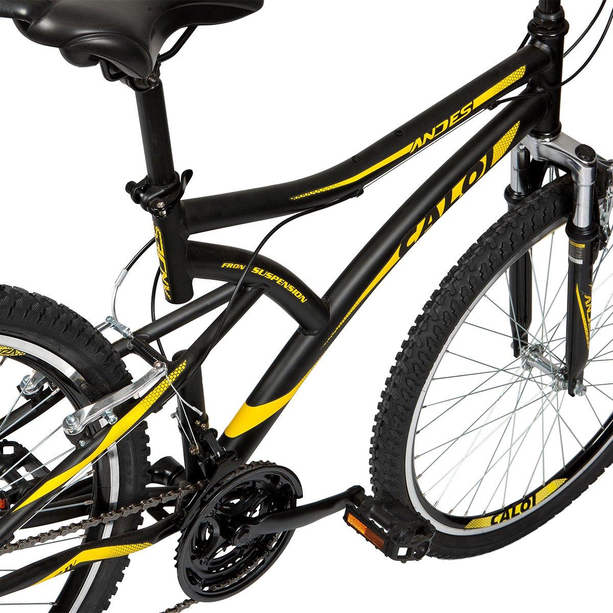 ... Bicicleta Aro 26 Mountain Bike Caloi Andes 21 Marchas Suspensão  Dianteira ... 253e867409bbb