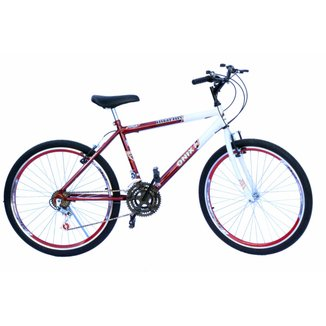 Bicicleta Aro 26 Onix  Caero,Pneu Slik,18Marchas
