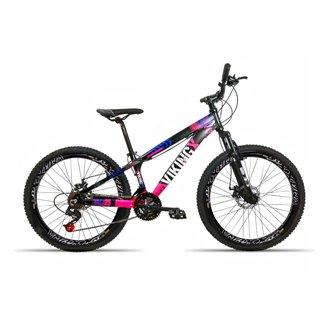 Bicicleta Aro 26 Vikingx 21 Velocidades Index Aro Vmaxx Freio Disco