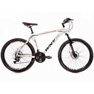 Bicicleta Aro 26 Wny Freio À Disco 21 Marchas