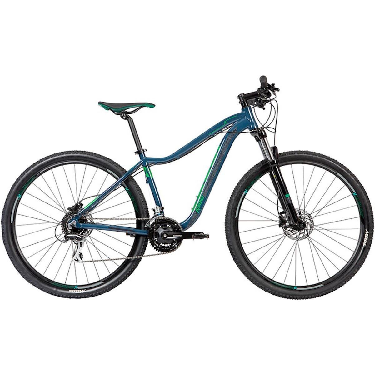 Bicicleta Caloi Kaiena Comp Aro 29 Susp. Dianteira 21 Marchas - Azul