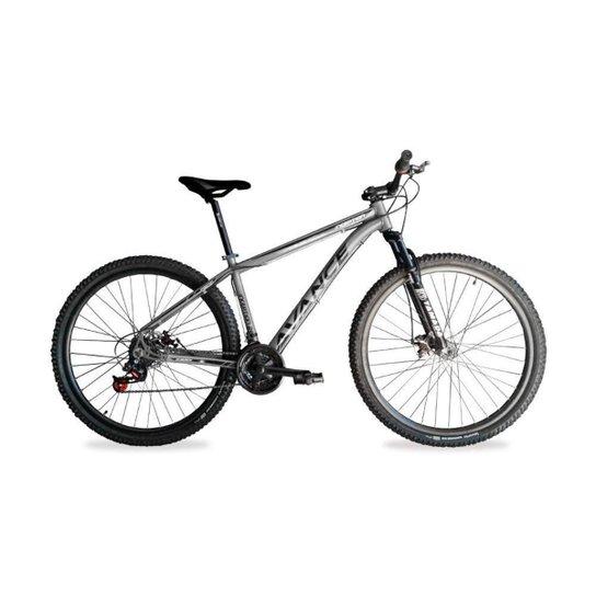 Bicicleta Aro 29 Avance 21 Marchas Câmbio  Trocador RapidFire - Cinza