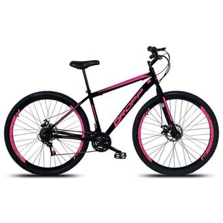 Bicicleta Aro 29 Dropp Aço 21v Freio á Disco  Feminina