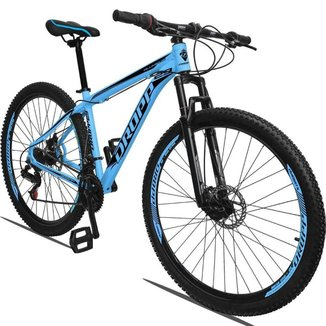Bicicleta Aro 29 Dropp Aluminium 21v Freio A Disco