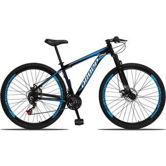 Bicicleta Aro 29 Dropp Aluminum 21 Marchas Freio a Disco Suspensão Dianteira