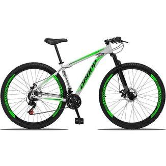 Bicicleta Aro 29 Dropp Aluminum 21V Freio A Disco E Suspensão