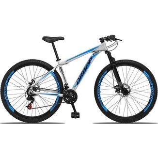 Bicicleta Aro 29 Dropp Aluminum 21v Suspensão, Freio a Disco