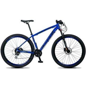 Bicicleta Aro 29 Dropp RS1 PRO 24v Acera Freio Hidra E Trava