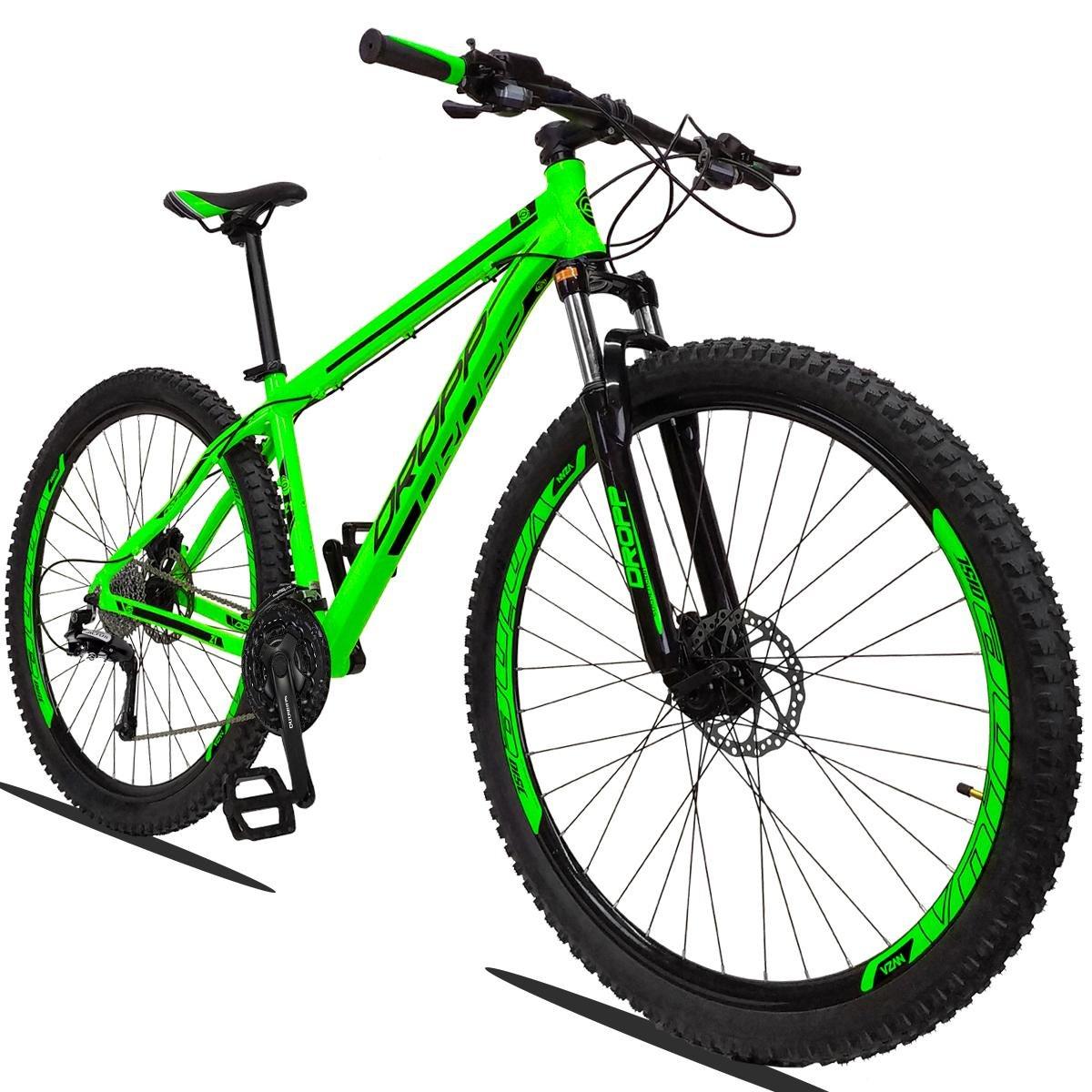 Bicicleta Dropp Z1 T17 Aro 29 Susp. Dianteira 24 Marchas - Verde