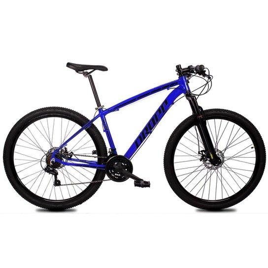 Bicicleta Aro 29 Dropp Z1-X Suspensão Freio Disc 21v - Azul