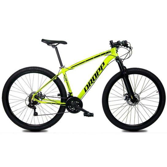 Bicicleta Aro 29 Dropp Z1-X Suspensão Freio Disc 21v - Amarelo