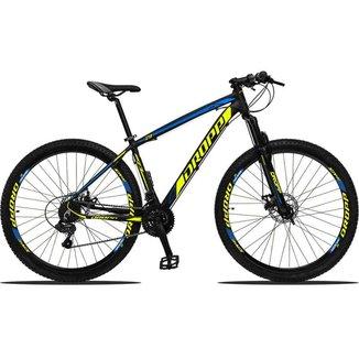 Bicicleta Aro 29 Dropp Z3 Câmbios Shimano 24V Freios a Disco Suspensão Dianteira