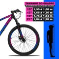Bicicleta Aro 29 Dropp Z3 Shimano Suspensão Freio Disc 21v