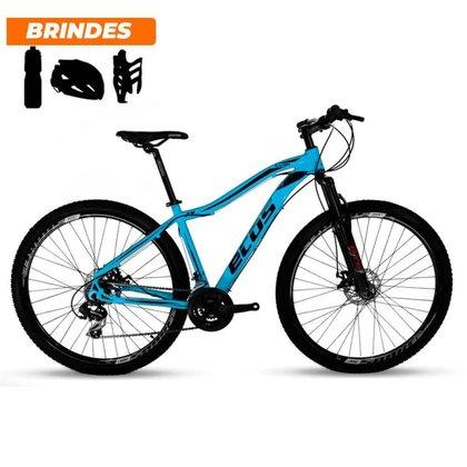 Bicicleta Aro 29 Ecos Onix 21v Câmbio Shimano Mecâ Azul Bebê