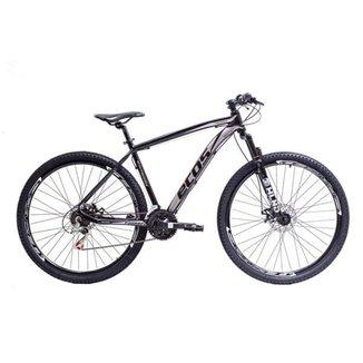 Bicicleta Aro 29 Ecos Touareg Kit 21V Shimano Freio A Disco Mec